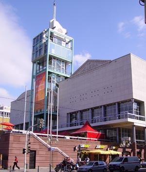 Stadshuset med torn. Foto: Immanuel Giel/Wikimedia Commons