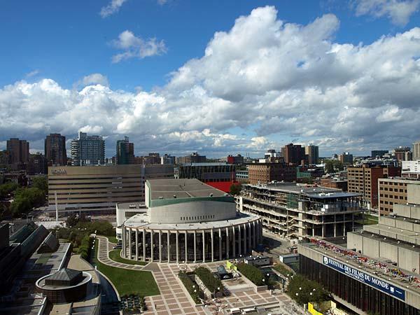 Place des Arts – Montreals mittpunkt.