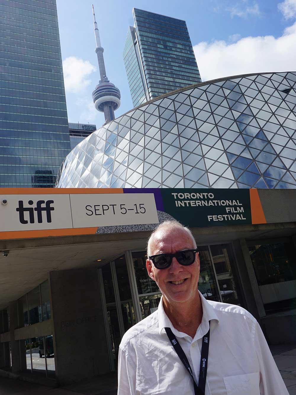 Jens Peterson på Toronto filmfestival